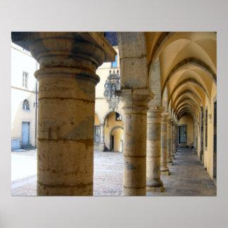 Ursuline convent, Poligny Print