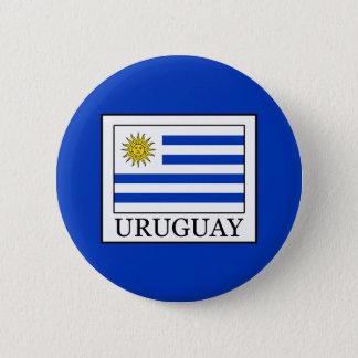 Uruguay 2 Inch Round Button