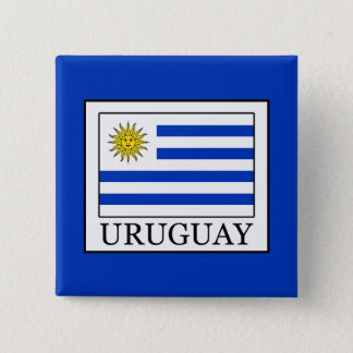 Uruguay 2 Inch Square Button