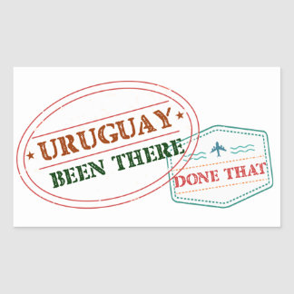 Uruguay Been There Done That Sticker