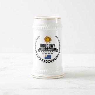 Uruguay Beer Stein