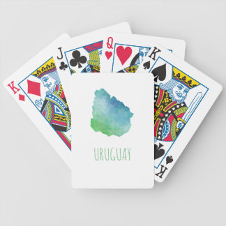 Uruguay Bicycle Playing Cards
