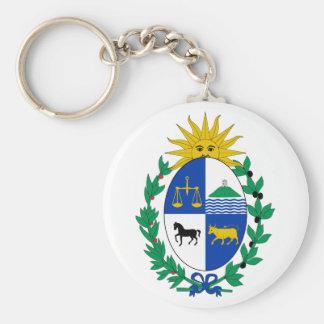 Uruguay Coat of Arms Keychain