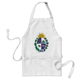 Uruguay coat of arms standard apron