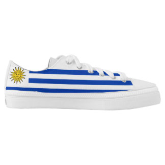 Uruguay Flag Low-Top Sneakers