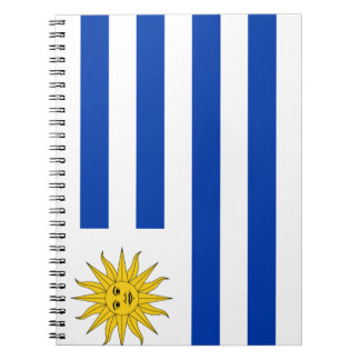 Uruguay Flag Notebooks