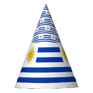 Uruguay Flag Party Hat