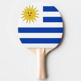 Uruguay Flag Ping Pong Paddle