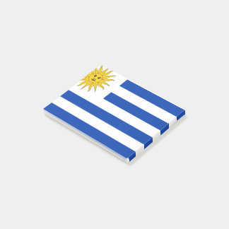 Uruguay Flag Post-it Notes