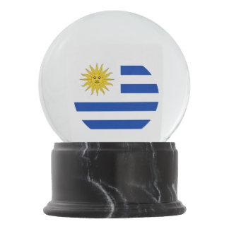 Uruguay Flag Snow Globe