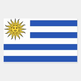 Uruguay flag sticker