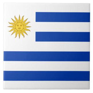 Uruguay Flag Tile