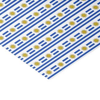 Uruguay Flag Tissue Paper