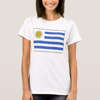 Uruguay Flag x Map T-Shirt