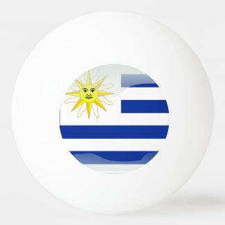 Uruguay glossy flag Ping-Pong ball