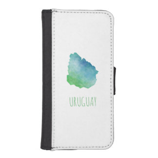 Uruguay iPhone SE/5/5s Wallet Case