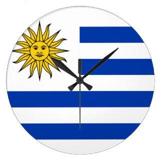 Uruguay Large Clock