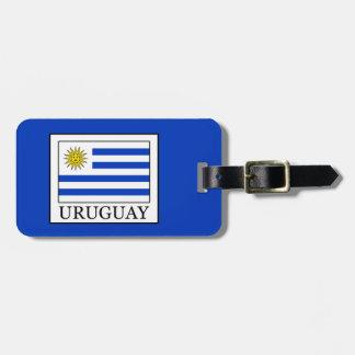 Uruguay Luggage Tag