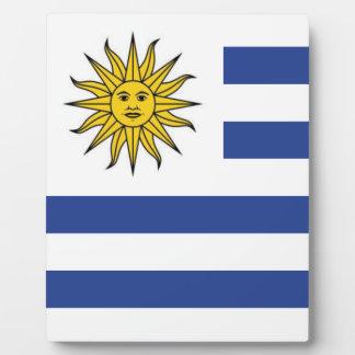 Uruguay Plaque