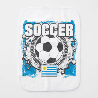 Uruguay Soccer Burp Cloth