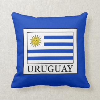 Uruguay Throw Pillow