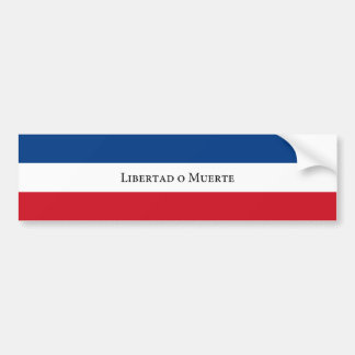 Uruguay/Uruguayan 33 Flag. Trenta Tres Bumper Sticker