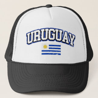 Uruguay Vintage Flag Trucker Hat