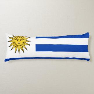 Uruguayan flag body pillow