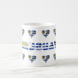 Uruguayan flag coffee mug