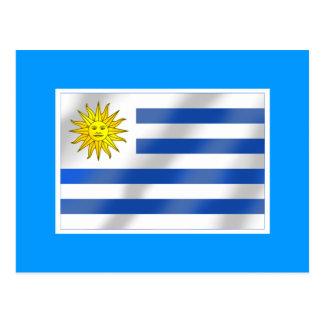 Uruguayan flag of Urugauy gifts and tees Postcard
