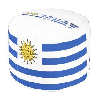 Uruguayan flag pouf