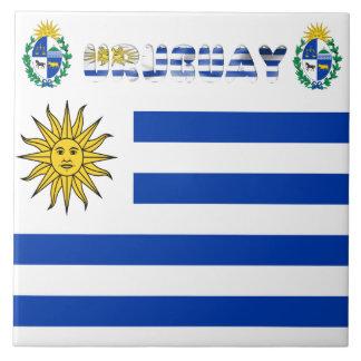 Uruguayan flag tile