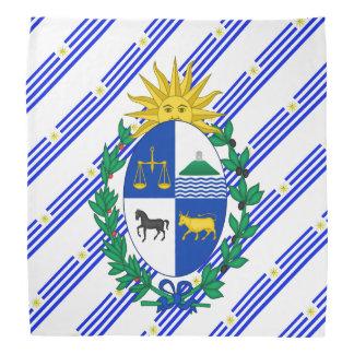 Uruguayan stripes flag bandana