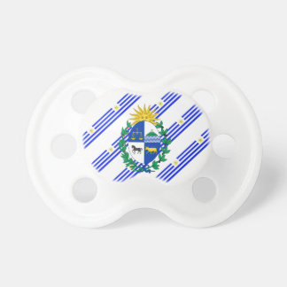 Uruguayan stripes flag pacifier