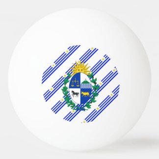 Uruguayan stripes flag ping pong ball
