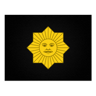 Uruguayan Sun of May Postcard