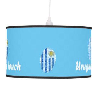 Uruguayan touch fingerprint flag pendant lamp