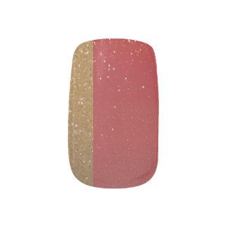 Urushi + Haku - Japanese traditional color Minx Nail Art
