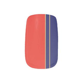 Urushi - Japanese traditional color Minx Nail Art