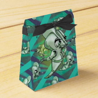 URZA CUTE ALIEN  Tent with Ribbon Favor Box