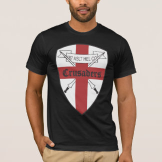 US 187th Assault Helicopter Co Crusaders T-Shirt