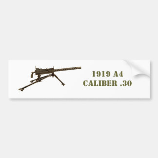US 1919 A4 BUMPER STICKER