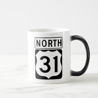 US 31 NORTH MAGIC MUG