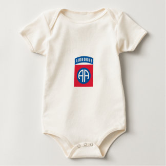 US 82nd Airborn Baby Bodysuit