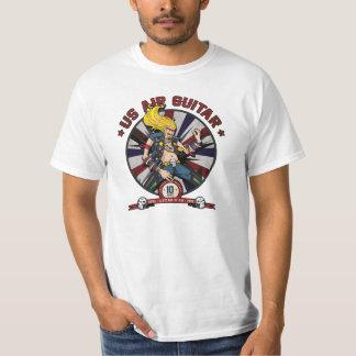 US Air Guitar Shirt - 10 Year Anniversary
