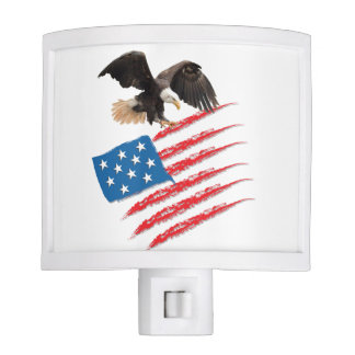 US America Flag Nite Lite
