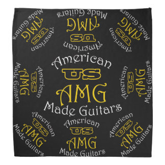 US American Made Guitars Bandana