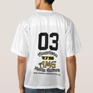 US American Made Guitars Football Jersey