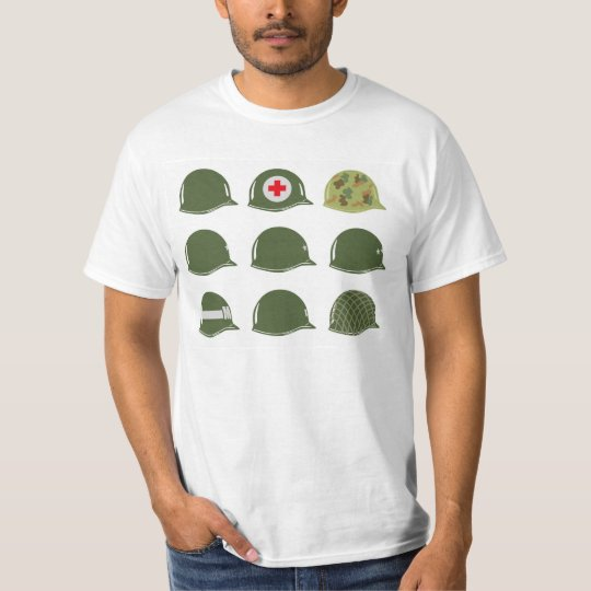 US Army Helmets M1 T-Shirt