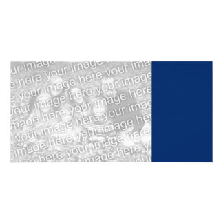 US Blue Photo Card Template